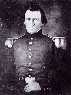 First known photograph of Ulysses S. Grant.