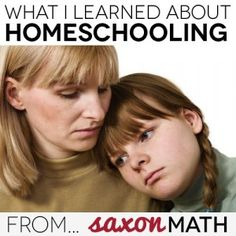What I learned about homeschooling from Saxon Math
