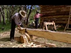 Frontier house! This is not the first episode, but full shows are available on youtube. Link to first one http://www.youtube.com/playlist?list=PL872C99D9FA0E253E=plcp
