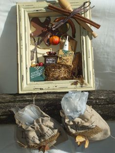 Open Shadow Box for Kitchen Gingerbread man Cook by rusticrevivals, $38.00