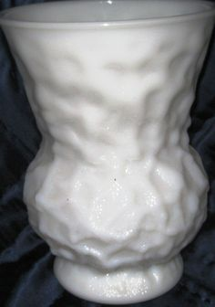 Milk Glass Vase 8 high EO Brody MINT by ChinaGalore on Etsy, $15.99