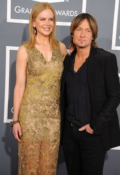 It's a once-in-a-lifetime love, to be sure. Nicole Kidman and Keith Urbanrepresent Tinseltown and Nashville at the 55th GRAMMYs in 2013