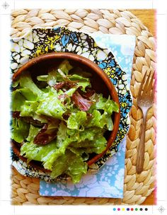 creamy, light, greek goddess salad dressing