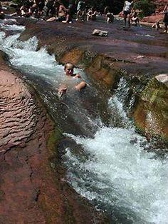 Slide Rock State Park in Sedona, Arizona