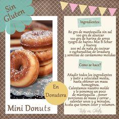 Mini donuts Sin Gluten