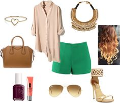 """""""green"""" by melaniesims on Polyvore"""
