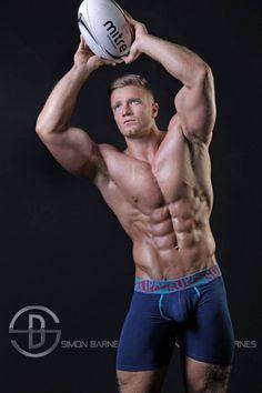Alex Davies: Perfect Male. Fitness Model