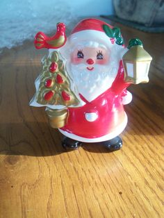 vintage napco japan santa claus christmas figurine very good condition