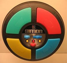 Simon Says electronic game... loved this!