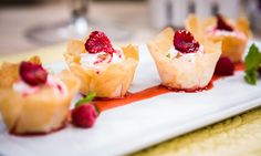Home & Family - Recipes - Cristina Cooks Phyllo Cups With Greek Yogurt and Peaches | Hallmark Channel