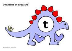 Phonemes on dinosaurs