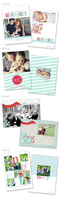 Our Holiday card Designs!