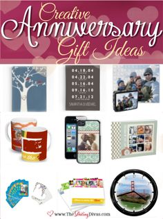 Creative anniversary gifts that are both memorable AND personal! www.TheDatingDivas.com #anniversarygiftideas