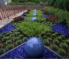 Recycled Glass Landscaping.