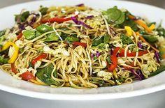Asian Noodle Salad Recipes