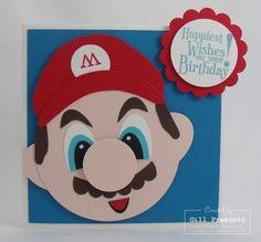 Super Mario Punch Art