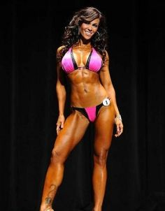 Dina Al Sabah - IFBB Figure Pro and IFBB Bikini Pro