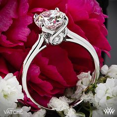 Vatche Sisley Solitaire Engagement Ring with a 1.52ct Round THIS IS THE BEST RING PIN EVER SERIOUSLY PLEASE CAN I HAVE THIS PLEASE PLEASE PLEASE THIS IS PURE BEAUTY