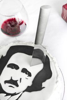 Sprinkle Bakes: Portrait of Poe in Waldorf Astoria Red Velvet