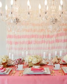 super chic bridal shower in shades of pink Photography by Liz Banfield / lizbanfield.com, Styling by http://www.whitepeacockevents.com/