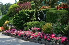 Top Walk in Summer at The Butchart Gardens