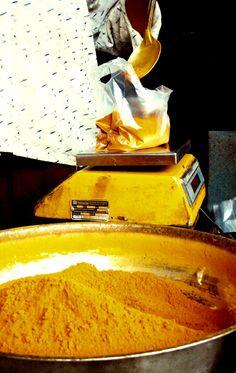 turmeric spice in India