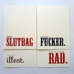 Endearment Cards Set of 4