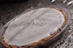 Peanut Butter Pie with Gluten-Free Cookie Crumb Crust
