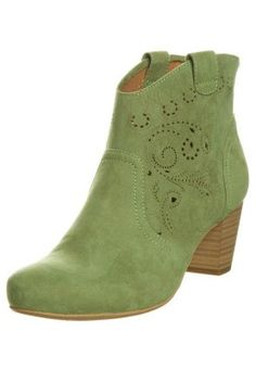 Boots - green.  Love these. The colour, the shape, the price!