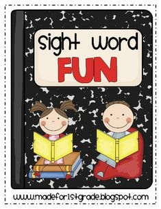 This is a series of activities that can be used with your beginning readers to reinforce basic sight words and teach important first grade literacy...