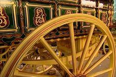 Wheel of wagon