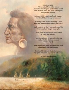 Native American Love Prayers | An Artist's Interpretation of White Cloud's Prayer