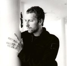 Chris Martin from Coldplay. So cute!!