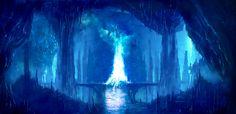 Ice Cave by Zen-Master.deviantart.com on @deviantART
