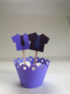 Happy Fathers Day Cupcake Toppers/Cake Topper... by JellyBeanPaper, $8.00