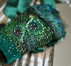 Peacock wedding colors. Wedding clutch