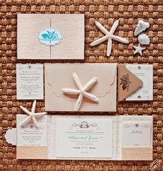 Allison & Gavin - Wedding Invitations - Destination - Ceci Couture - Ceci Wedding - Ceci New York