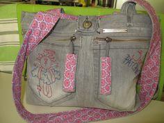 My Cute Jeans Bag :)