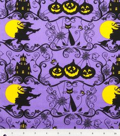Holiday Inspirations Fabric- Halloween Silhouette : holiday fabric : fabric :  Shop | Joann.com