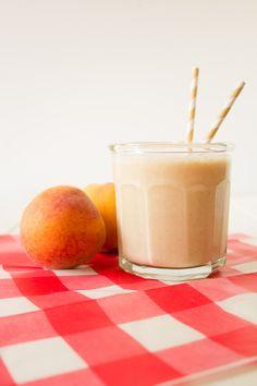 Peach Cobbler Smoothie | Fun Fresh Feast