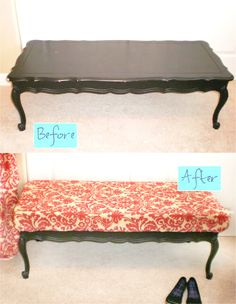 Coffee Table Bedroom Bench