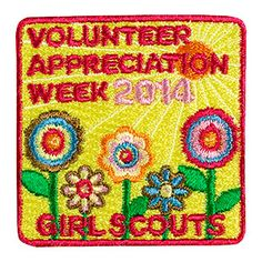 "2014 VOLUNTEER APPRECIATION WEEK. Girl Scout Leader Appreciation Day is April 22. Be sure to say ""Thank You"" to the Girl Scout Volunteers who make your Girl Scouting experience possible. #VolunteerAppreciation #LeaderAppreciation"