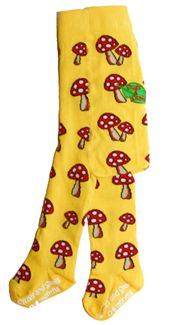 Slugs & Snails Tights - Toadstools