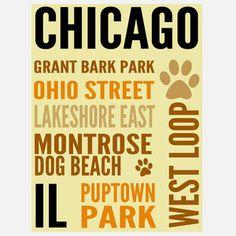 Chicago Dog Hot Spot Yellow