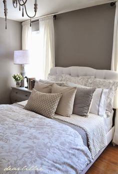 Our Gray Guest Bedroom and a Full Source List