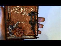 Steampunk Spells card series 1 - tutorial #graphic45 #video