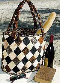 Diamond Island Tote Bag Pattern