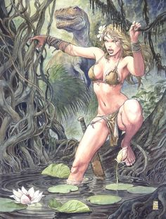 Milo Manara's cover for Savage Wolverine #2.