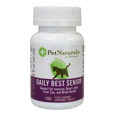 Daily Best Senior incorporates important ingredients necessary to the health of senior cats, but which are not always found in cat food or ordinary supplements. It provides over 45 nutrients, including enteric coated digestive enzymes, Phosphatidylserine, L-Glutamine, CoQ10, Tyrosine, Grape Seed Extract, Milk Thistle Extract, EPA, DMG and Bilberry Extract to support the health and energy of senior cats.