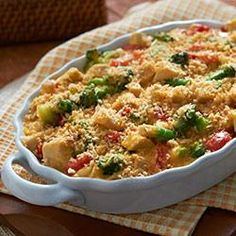 Cheddar Broccoli and Chicken Casserole from Country Crock(R) Allrecipes.com